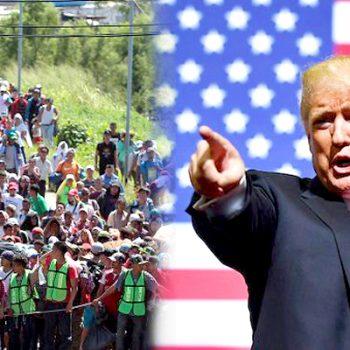 Trump enviará mil soldados a la frontera