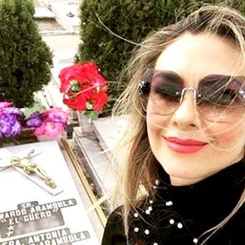 """Aracely Arámbula confirma muerte de madre de """"Luismi"""""""