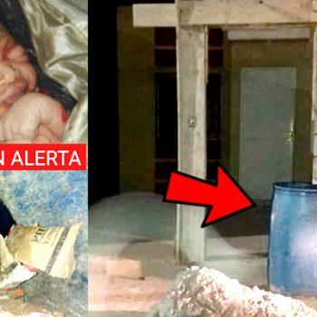 Bebé que fue tirado a la basura en Apodaca, sigue delicado