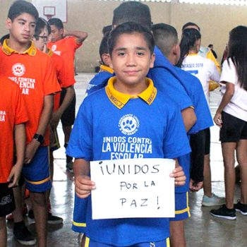 """Realiza Río Bravo torneo """"Unidos Contra la Violencia Escolar"""""""