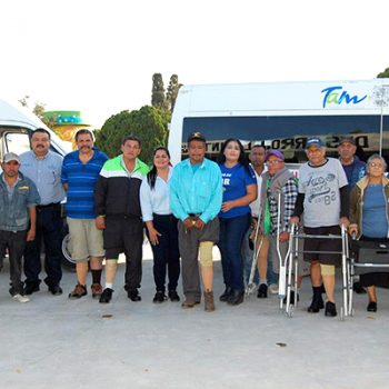 DIF Tamaulipas entrega prótesis a ciudadanos de Río Bravo