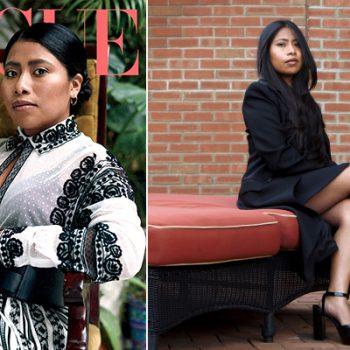 Yalitza Aparicio aparece en portada de Vogue México