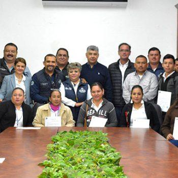 Reciben nombramiento 13 delegados municipales