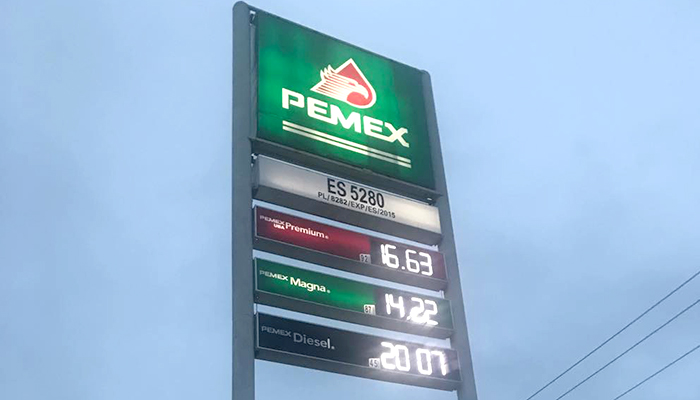 Dueños de gasolineras de Río Bravo, aún no cambian sus precios