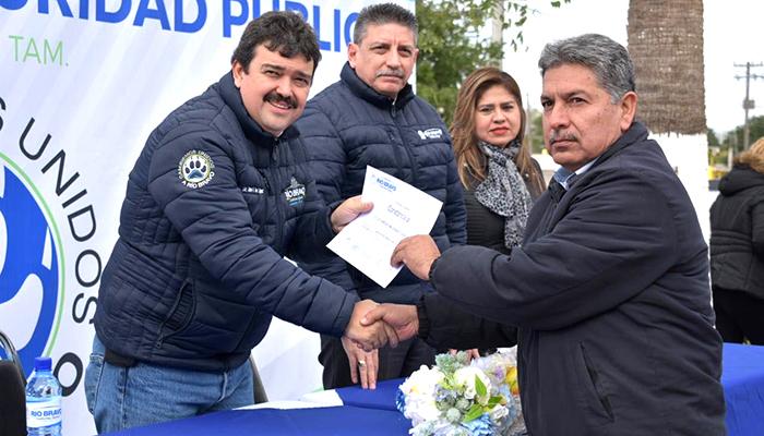Seguridad Pública al servicio de la ciudadanía de Río Bravo