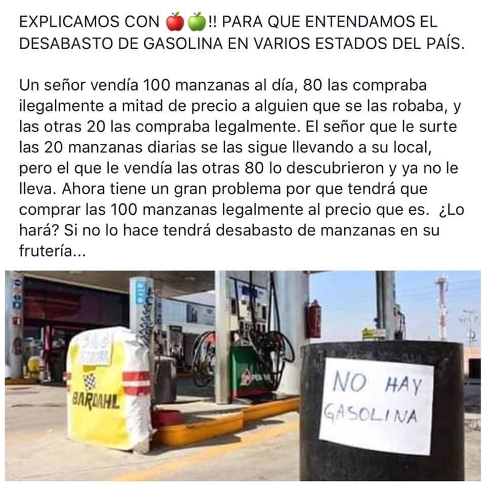 Hasta tres semanas sin gasolina en la frontera