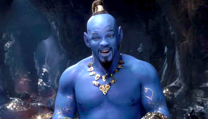 """El """"Genio""""de Will Smith en """"Aladdin"""" divide opiniones"""
