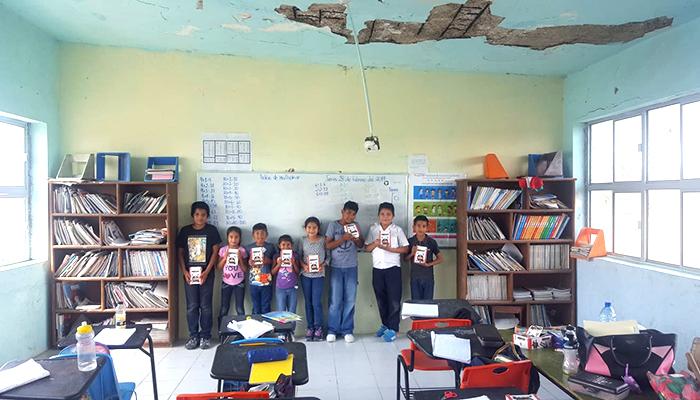 Primaria rural de Río Bravo vende chocolates para apoyar a sus niños
