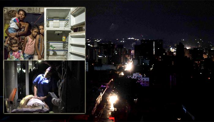 Colapso total por apagones en Venezuela