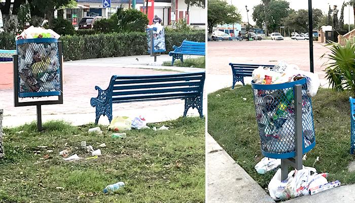 Casa de la Cultura de Río Bravo necesita limpieza y contenedores de basura