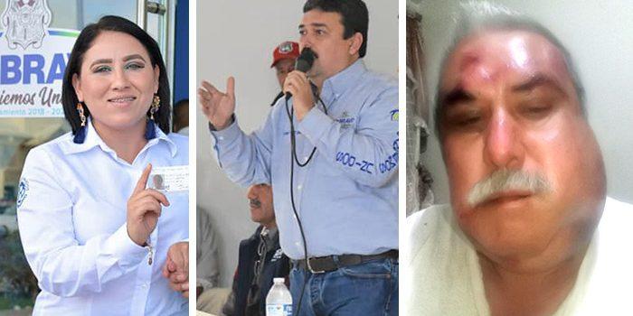 Funcionaria de Río Bravo justifica golpiza al periodista Abraham Gonzalez
