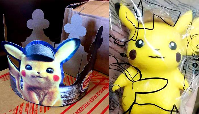 Así son los juguetes de Detective Pikachu de Burger King