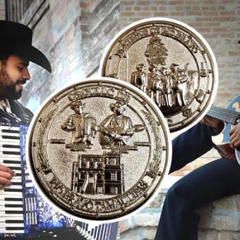 """Salen a la venta monedas conmemorativas de los """"Norteños de Río Bravo"""""""