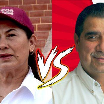Paquita Castro y Omar Chavez encabezan las encuestas de Río Bravo
