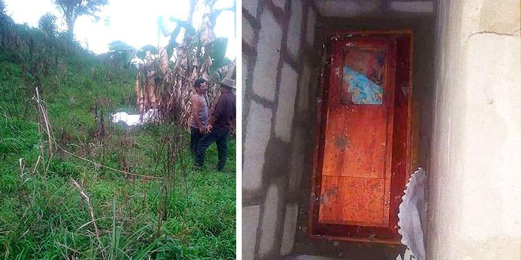Abren tumba de niña de 1 año de edad y violan su cuerpo en Honduras (Video)