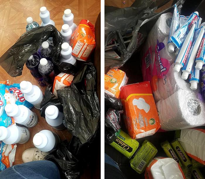 Comunidad LGBT de Reynosa, reparte ayuda humanitaria a los afectados por la tormenta