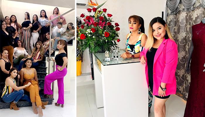 """Desfile de moda """"Es Bella Showroom"""" pasarela 2019 en Nuevo Progreso"""