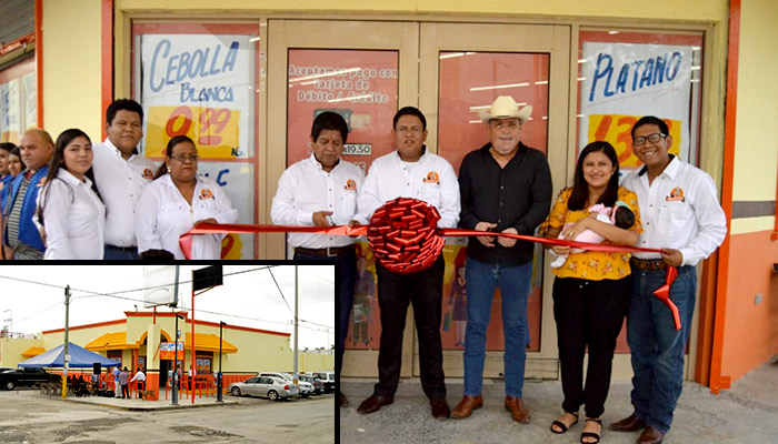 """Inauguran nueva tienda de abarrotes """"Super Don Teto"""" en Río Bravo"""