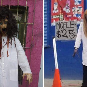 """Piñatería Ramírez elabora piñata de """"Maki Zombie"""" en Reynosa"""