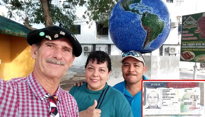 Don Martín ya cruzó a Estados Unidos y agradece a los riobravenses por el apoyo que le brindaron