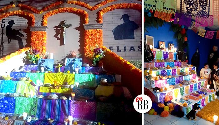 """Escuelas dedican altares a los """"Norteños de Río Bravo"""", Elias y Cuitláhuac"""