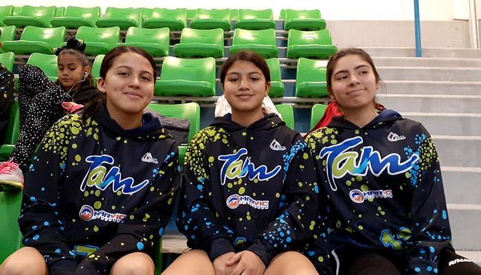 3 jóvenes riobravenses del equipo Handball estatal asisten a la Copa Jalisco
