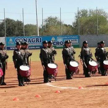 Banda de Guerra 'Cuervos' irán a Monterrey a participar en concurso de Bandas