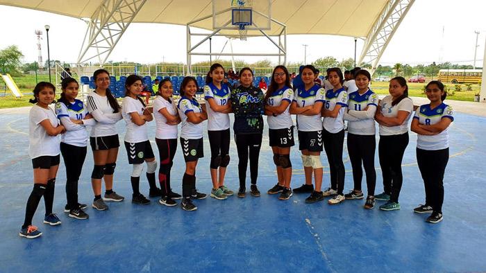Equipo Halcones Handball Club de Río Bravo