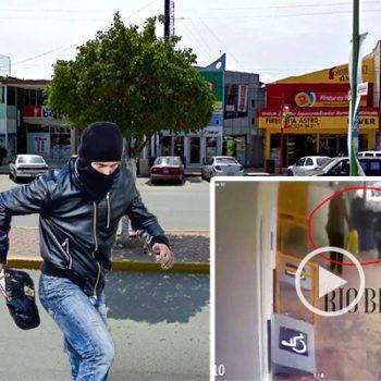 Mujer de Río Bravo es víctima de robo a plena luz del día en el centro de la ciudad - VIDEO