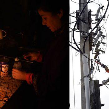 Familias de la colonia Morelos llevan días sin luz eléctrica