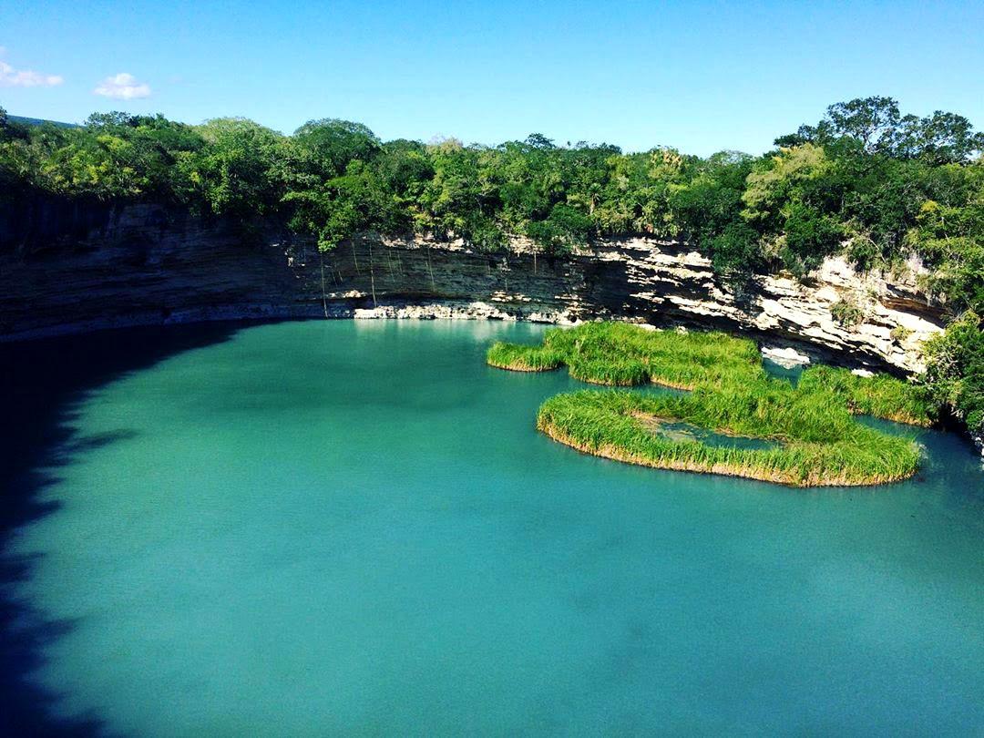 """Cenote """"El Zacatón"""" Aldama Tamaulipas"""