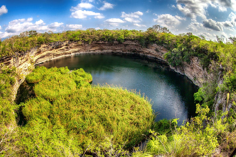 El Zacatón: el cenote más profundo del mundo está en Tamaulipas