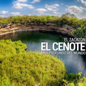 Conoce El Zacatón: el cenote más profundo del mundo está en Tamaulipas