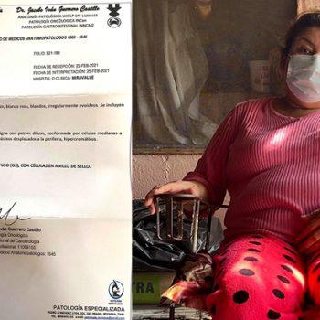 Humilde familia de Río Bravo, pide un milagro para su madre