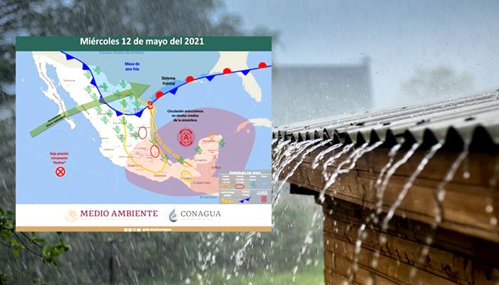 Lluvias para Río Bravo a partir del miércoles