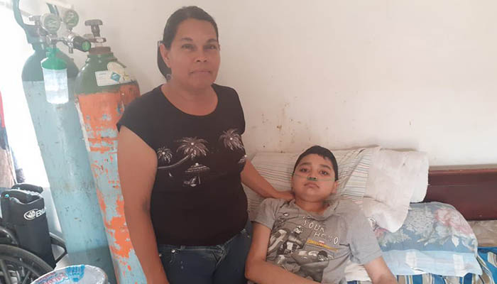 Luis Emmanuel de 13 años necesita la ayuda de Río Bravo