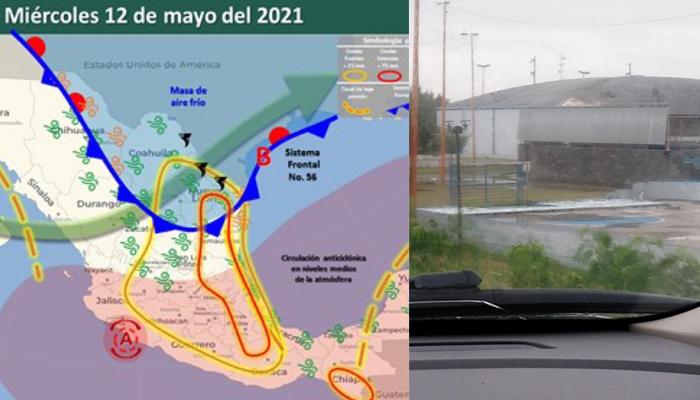 Tormenta causa estragos en sectores de Río Bravo