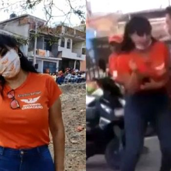 Exhiben video del asesinato de Alma Barragán; murió con micrófono en mano
