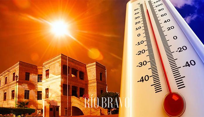 Ola de calor llega a Río Bravo, con una sensación de 40 grados