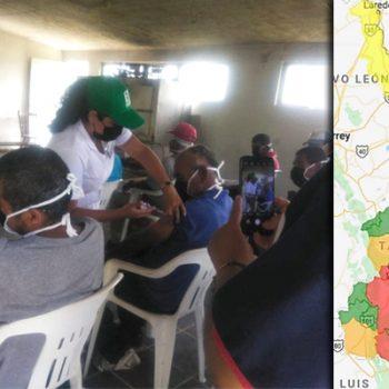 Río Bravo con semaforo epidemiologico en rojo; hay 61 casos activos